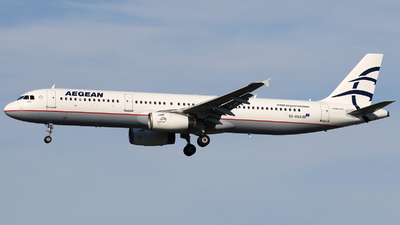 A picture of SXDGA - Airbus A321231 - Aegean Airlines - © Pawel Cieplak