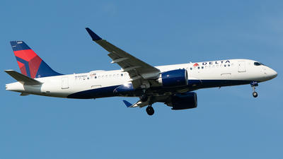 A picture of N309DU - Airbus A220300 - Delta Air Lines - © John Newsome