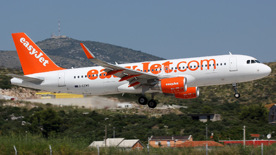 G-EZWO - Airbus A320-214 - easyJet