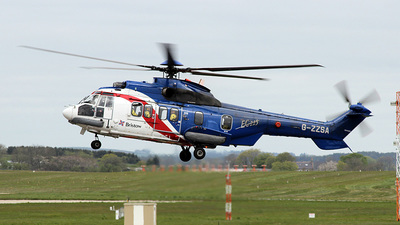 A picture of GZZSA - Airbus Helicopters H225 - Bristow Helicopters - © Paul Davey