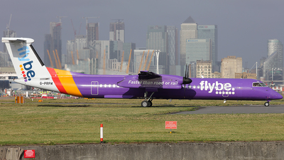 G-PRPM - Bombardier Dash 8-Q402 - Flybe