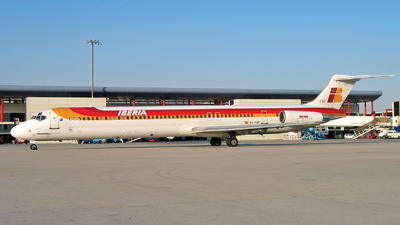 EC-FOF - McDonnell Douglas MD-88 - Iberia