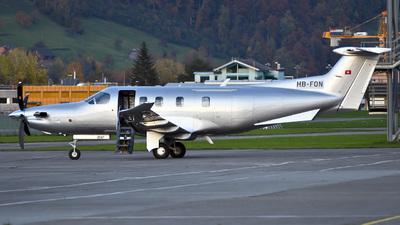 A picture of HBFQN - Pilatus PC12/47 - [1114] - © Mirko Bleuer
