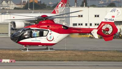 TC-HGA - Eurocopter EC 135 - Turkey - Ministry of Health