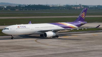 HS-TBG - Airbus A330-343 - Thai Airways International