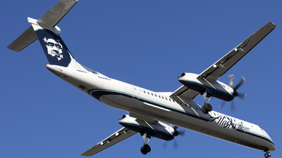 A picture of N448QX - De Havilland Canada Dash 8400 - Alaska Airlines - © Illia Lavrenko