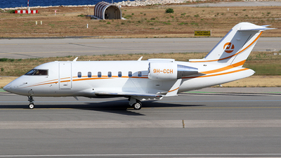 9H-CCH - Bombardier CL-600-2B16 Challenger 650 - Private
