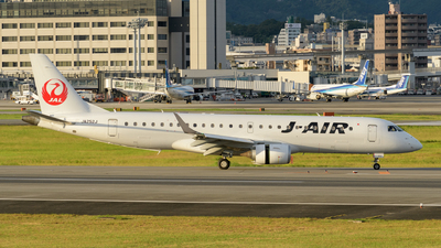 A picture of JA252J - Embraer E190STD - Noble Air Charter - © Tsumugu Ono