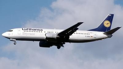 D-ABKK - Boeing 737-430 - Lufthansa Express