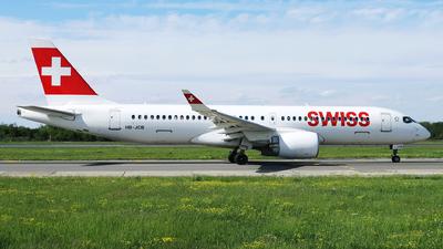 HB-JCB - Bombardier CSeries CS300 - Swiss