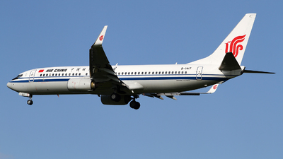 A picture of B1417 - Boeing 73789L - Air China - © M.T