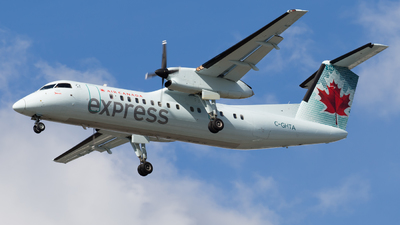C-GHTA - Bombardier Dash 8-301 - Air Canada Express (Jazz Aviation)