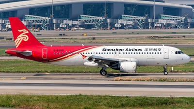 A picture of B6550 - Airbus A320214 - Shenzhen Airlines - © Zhou Qiming
