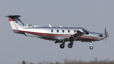 A picture of T7BPJ - Pilatus PC12/47E - [] - © odin76