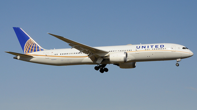 N26952 - Boeing 787-9 Dreamliner - United Airlines