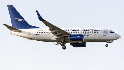 A picture of LVCAP - Boeing 73776N - Aerolineas Argentinas - © Flavio García Photos