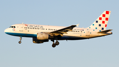 9A-CTH - Airbus A319-112 - Croatia Airlines