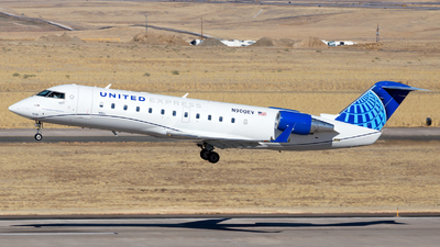 A picture of N900EV - Mitsubishi CRJ200LR - United Airlines - © HA-KLS
