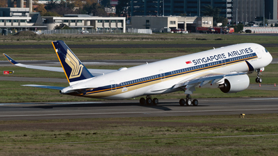 F-WZGK - Airbus A350-941 - Singapore Airlines