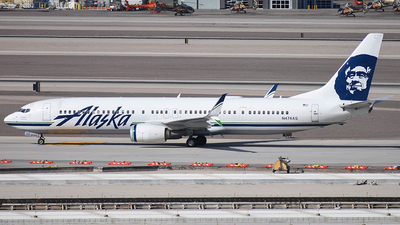A picture of N474AS - Boeing 737990(ER) - Alaska Airlines - © Taxi_Way_