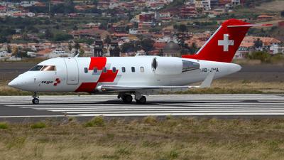 HB-JWA - Bombardier CL-600-2B16 Challenger 650 - REGA - Swiss Air Ambulance