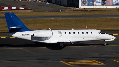 A picture of N998G - Cessna 680 Citation Sovereign - [6800224] - © Wesley Moolman