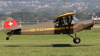 A picture of HBPAX - Piper PA18150 Super Cub - [188193] - © Alexandre Fazan