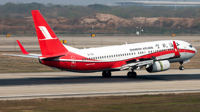 A picture of B1742 - Boeing 73786D - Shanghai Airlines - © william8252