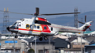 JA6930 - Aérospatiale AS 332L Super Puma - Aero Asahi