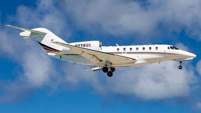 N998QS - Cessna 750 Citation X - NetJets Aviation