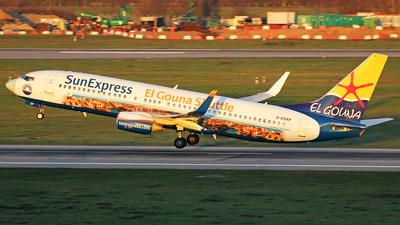 A picture of DASXP - Boeing 7378HX - SunExpress - © Christian Weber