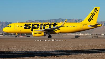 N652NK - Airbus A320-232 - Spirit Airlines