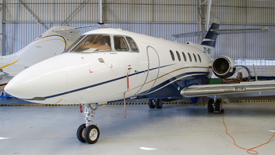 ZS-MBA - Raytheon Hawker 800XP - Private