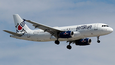 N586JB - Airbus A320-232 - jetBlue Airways