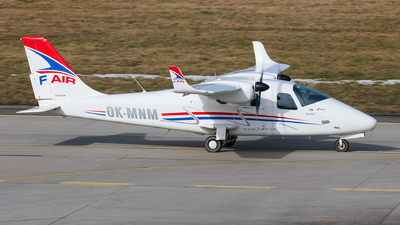 OK-MNM - Tecnam P2006T - F-Air Flight School