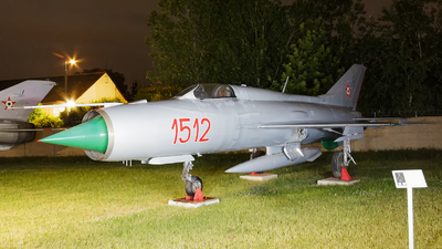 1512 - Mikoyan-Gurevich MiG-21PF Fishbed - Hungary - Air Force