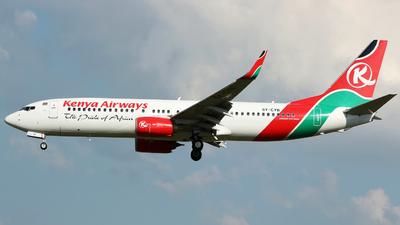 5Y-CYB - Boeing 737-8HX - Kenya Airways - Flightradar24