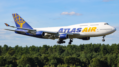 N263SG - Boeing 747-481 - Atlas Air
