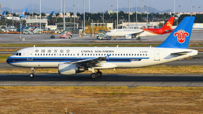 A picture of B6782 - Airbus A320214 - China Southern Airlines - © SS8-0002