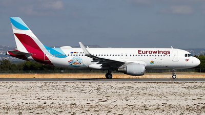 D-AEWK - Airbus A320-214 - Eurowings