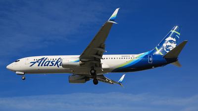 N569AS - Boeing 737-890 - Alaska Airlines