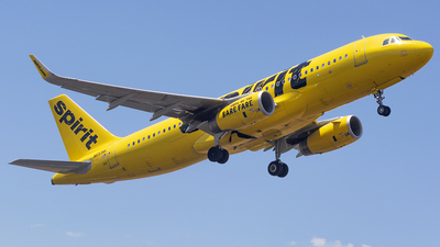A picture of N693NK - Airbus A320232 - Spirit Airlines - © Michael Mora Tapia