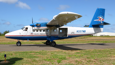 N337MB - De Havilland Canada DHC-6-100 Twin Otter - Skydive Spaceland