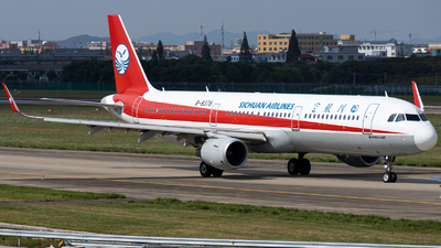 A picture of B8378 - Airbus A321211 - Sichuan Airlines - © XPHNGB