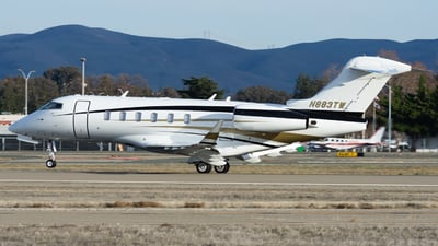 A picture of N883TW - Bombardier Challenger 350 - Delta Private Jets - © Taylor Kim