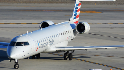 A picture of N776SK - Mitsubishi CRJ701ER - American Airlines - © Michael Rodeback