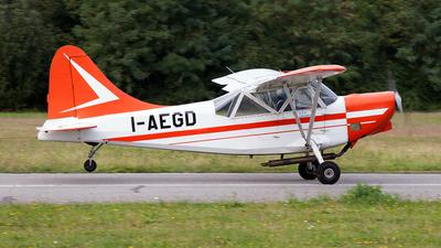 I-AEGD - Stinson L-5 Sentinel - Aeroclub Volovelistico Alpino Valbrembo (BG), Italy