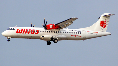 PK-WGR - ATR 72-212A(600) - Wings Air