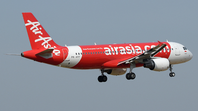 PK-AXY - Airbus A320-216 - Indonesia AirAsia