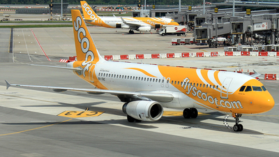 9V-TRE - Airbus A320-232 - Scoot